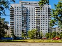 Фрунзенский район, улица Белградская, дом 8 к.1. многоквартирный дом