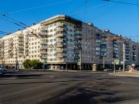 Фрунзенский район, улица Будапештская, дом 13. многоквартирный дом