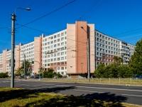 Фрунзенский район, улица Будапештская, дом 14 к.1. многоквартирный дом