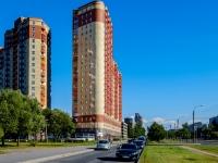 Фрунзенский район, улица Бухарестская, дом 80. многоквартирный дом