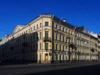 Центральный район, Невский проспект, дом 13. многоквартирный дом