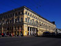 Центральный район, Невский проспект, дом 18. многоквартирный дом