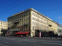 隔壁房屋: avenue. Nevsky, 房屋 22-24. 公寓楼