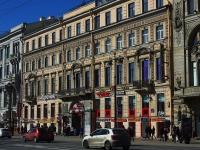 Центральный район, Невский проспект, дом 60. многоквартирный дом