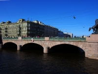 """Центральный район, Невский проспект. мост """"Аничков"""""""