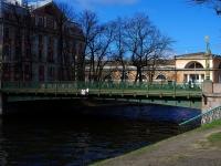 Центральный район, улица Набережная реки Мойки. мост Садовый 2-й