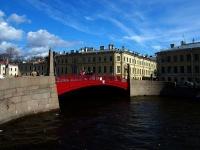Центральный район, улица Набережная реки Мойки. мост Красный