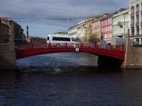 """Центральный район, улица Набережная реки Мойки. мост """"Красный"""""""