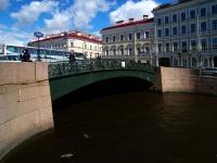 Центральный район, улица Набережная реки Мойки. мост Певческий