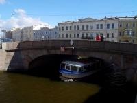 Центральный район, улица Набережная реки Мойки. мост Зимний 2-й