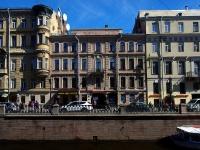 Центральный район, улица Набережная канала Грибоедова, дом 12. многоквартирный дом