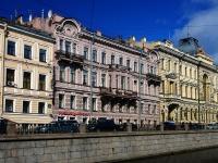 Центральный район, улица Набережная канала Грибоедова, дом 15. многоквартирный дом