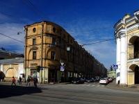 Центральный район, улица Садовая, дом 19. многофункциональное здание