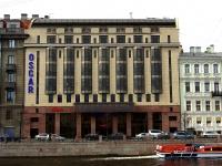 """соседний дом: ул. Набережная реки Фонтанки, дом 13. офисное здание Бизнес-центр """"Oskar"""""""