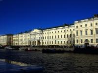 Центральный район, улица Набережная реки Фонтанки, дом 36. библиотека Российская национальная библиотека