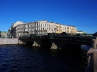 Центральный район, улица Набережная реки Фонтанки. мост Белинского