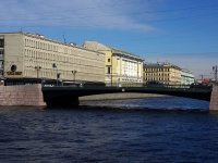 Центральный район, улица Набережная реки Фонтанки. мост Лештуков