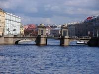 """Центральный район, улица Набережная реки Фонтанки. мост """"Ломоносова"""""""