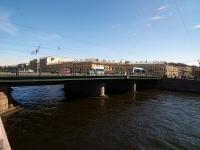 Центральный район, улица Набережная реки Фонтанки. мост Семёновский