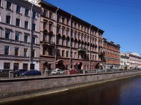 Центральный район, улица Казанская, дом 12. многоквартирный дом