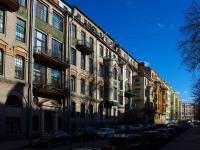 Центральный район, улица Таврическая, дом 7. многоквартирный дом