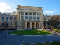 Центральный район, Суворовский проспект, дом 32Б. университет Санкт-Петербургский военный университет связи