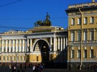 Центральный район, площадь Дворцовая, дом 10. суд Санкт-Петербургский гарнизонный военный суд