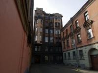Центральный район, Митавский переулок, дом 3. многоквартирный дом