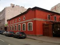 Центральный район, Гродненский переулок, дом 9. здание на реконструкции