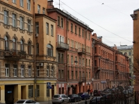 Центральный район, улица Коломенская, дом 3. многоквартирный дом