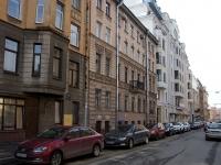 Центральный район, улица 4-я Советская, дом 11. многоквартирный дом