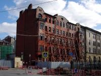 Центральный район, улица Кирилловская, дом 23. здание на реконструкции