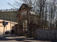 Центральный район, улица Миргородская. малая архитектурная форма Ворота