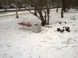 Екатеринбург, ул. Уральская, 46: площадка для отдыха возле дома