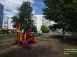 Тольятти, ул. Тополиная, 3: детская площадка возле дома
