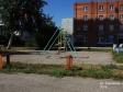 Тольятти, ул. Тополиная, 7: детская площадка возле дома