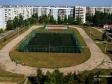 Тольятти, ул. Тополиная, 7: спортивная площадка возле дома