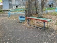 Екатеринбург, ул. Военная, 8А: площадка для отдыха возле дома