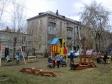 Екатеринбург, ул. Военная, 6: детская площадка возле дома