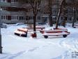 Тольятти, ул. Ворошилова, 16: площадка для отдыха возле дома