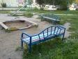Екатеринбург, ул. Красина, 6: площадка для отдыха возле дома